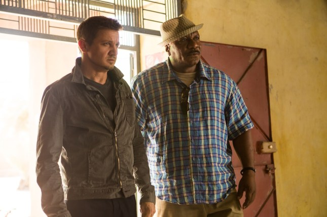 Jeremy Renner as William Brandt and Ving Rhames as Luther Stickell, Mission: Impossible - Rogue Nation (2015)
