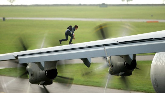 Tom Cruise as Ethan Hunt, Mission: Impossible - Rogue Nation (2015)