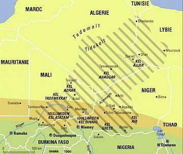 land of the Taureg