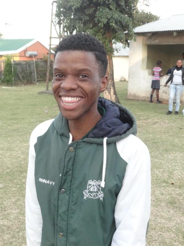 Nkosiphendule Mkhontwana - outgoing Nobalisa team member, and talented writer!