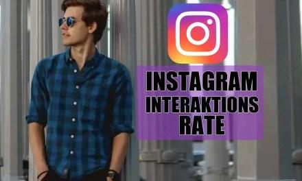 Instagram Interaktionsrate steigern! Aber wie?