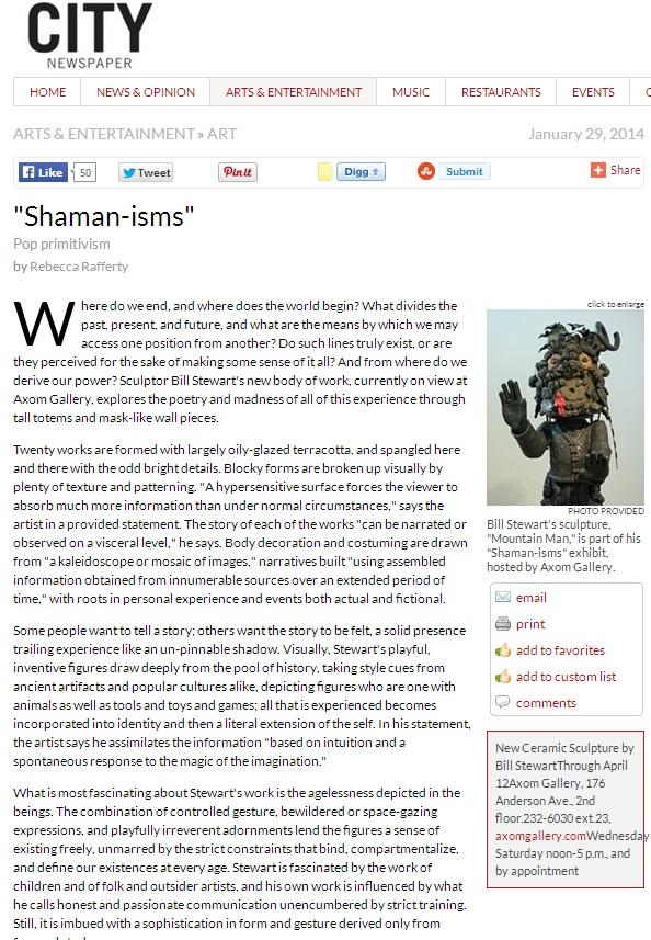 Shaman-isms (1)by Rebecca Rafferty City_2014