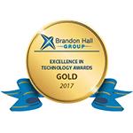 Brandon Hall Excellence in Tech Award Gold