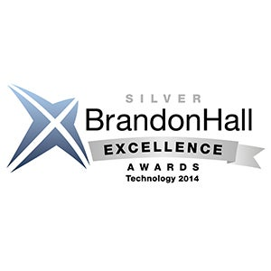 "<h4>2014 Best Advance in Unique Learning Technology -Silver</h4> The Excellence Awards recognize the best organizations that have successfully deployed Brandon Hall 2014 programs, strategies, modalities, processes, systems, and tools that have achieved measurable results. The program attracts entrants from leading corporations as well as mid-market and smaller firms around the world.  <p class=""p1""><a class=""soft-btn"" href=""""http://brandonhall.com/excellence-technology.php?year=2014#Best%20Advance%20in%20Unique%20Learning%20Technology"""" target=""""_blank""""> Read more about this award <i class=""fas fa-angle-right""></i></a>"