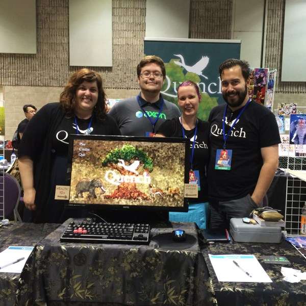 The Axon Team at Con Bravo!