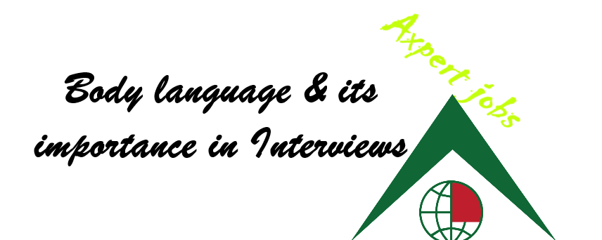 Body Language in Interviews!