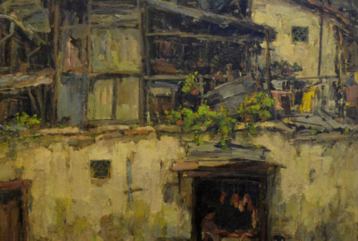 TCT 078, Butcher's Stall, 1993, Oil on canvas, 99 x 99 cm #03