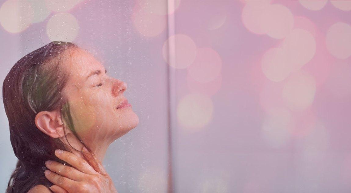 Duschen – im Hier und Jetzt