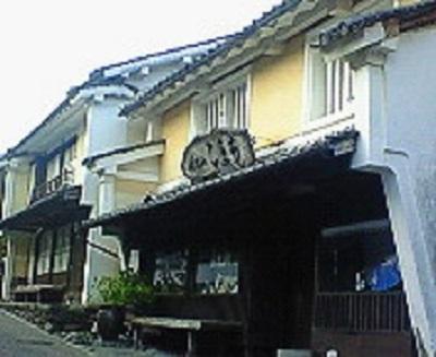 内子町の町並み。