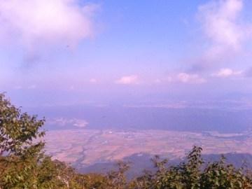 富良野盆地を見落ろす。