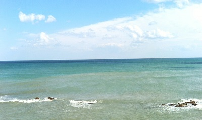 猿払村の海!