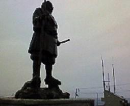 2007/11/20 08:15 弁慶の像