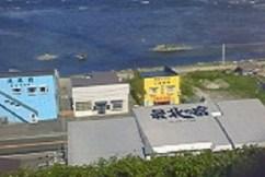2008/09/11 12:20 北を望む。屋根にも最北の文字。