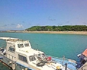 2009/07/07 14:28 浜比嘉島の海②