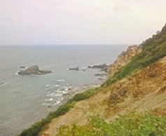 2010/08/25 09:30 神威岬のチャレンカの小道より望む②