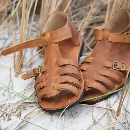 Saige Leather Sandals | Hand Made | Genuine Leather