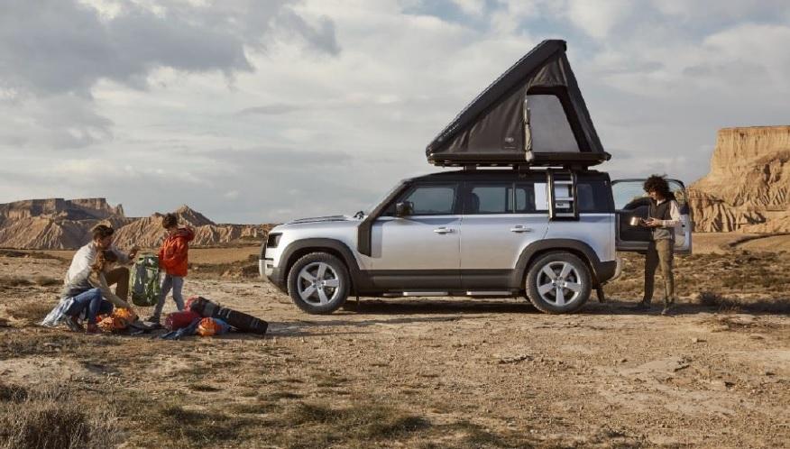Land Rover y Autohome Crean Casa de Campaña para Techo del Nuevo Defender
