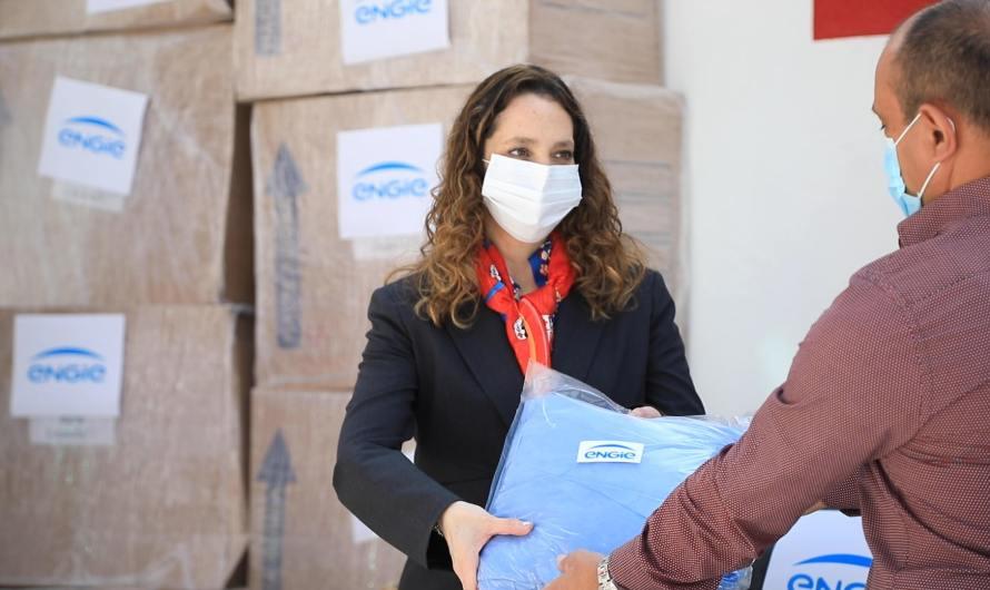 Engie de México entrega apoyos a familias en apoyos para superar la pandemia de Covid-19