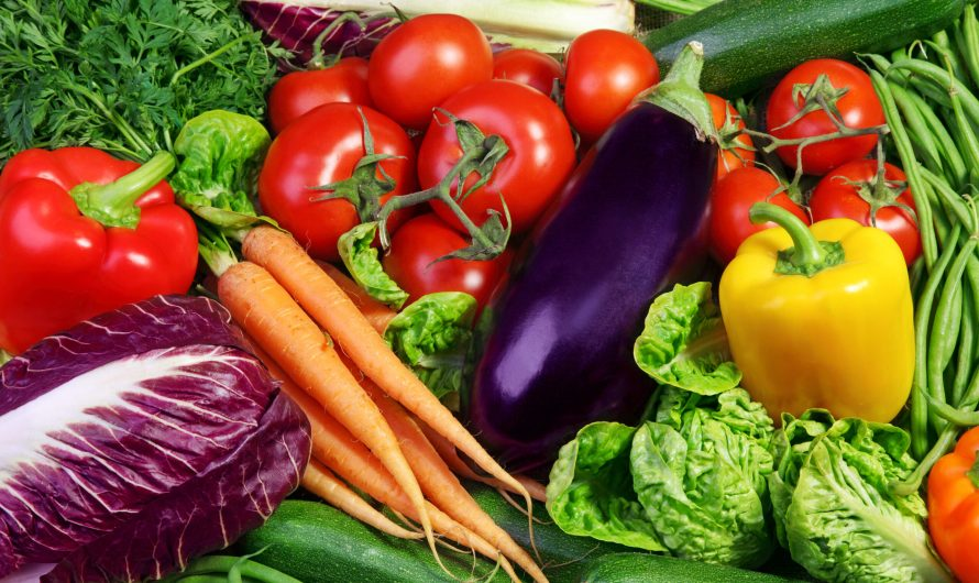 ¡Come frutas y verduras!