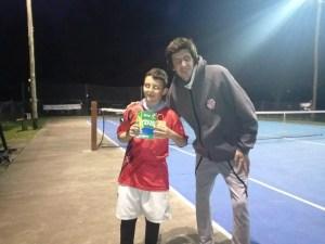 tenis tiro infantiles 9 de junio