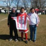 gaston olavarrieta gol 100 domingo 1-9-2019