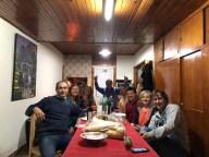 Cena con colegas