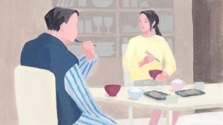 食卓 男性 女性