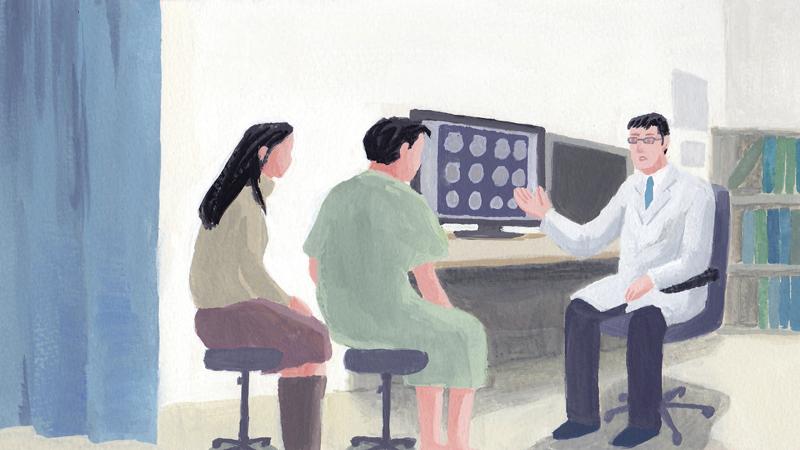 病院 医師 診断 男性 女性