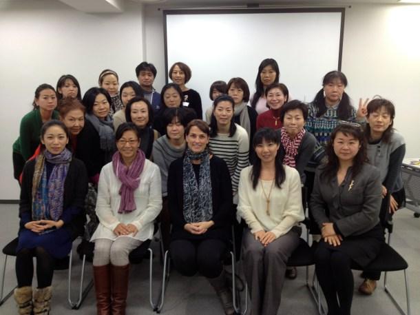 キラ先生のセミナー、質問などもたくさんいただいて、活発なクラスだったようです。