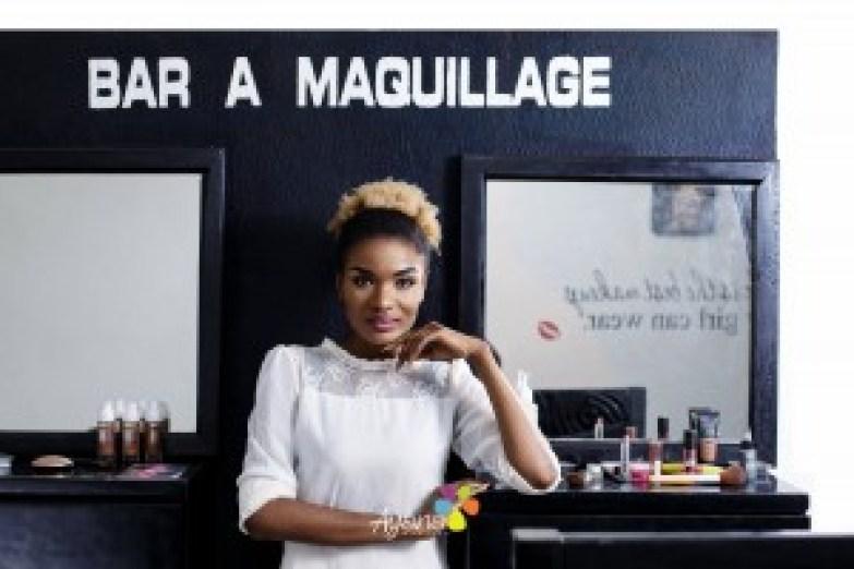 Masha, maquilleuse, blogueuse, chef d'entreprise
