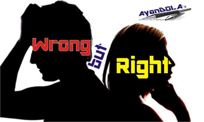 WRONG BUT RIGHT?: PROLOGUE