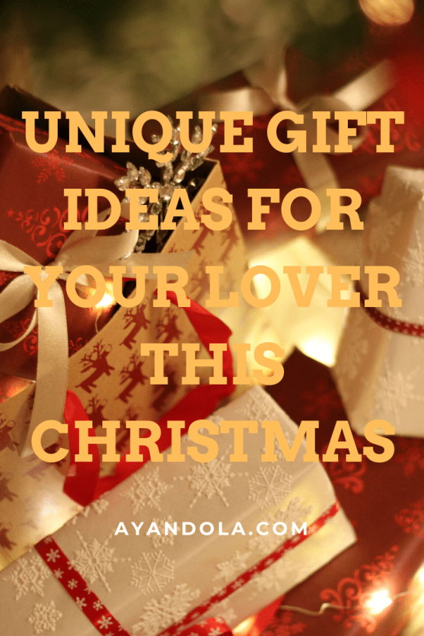 gift ideas for your lover this Christmas