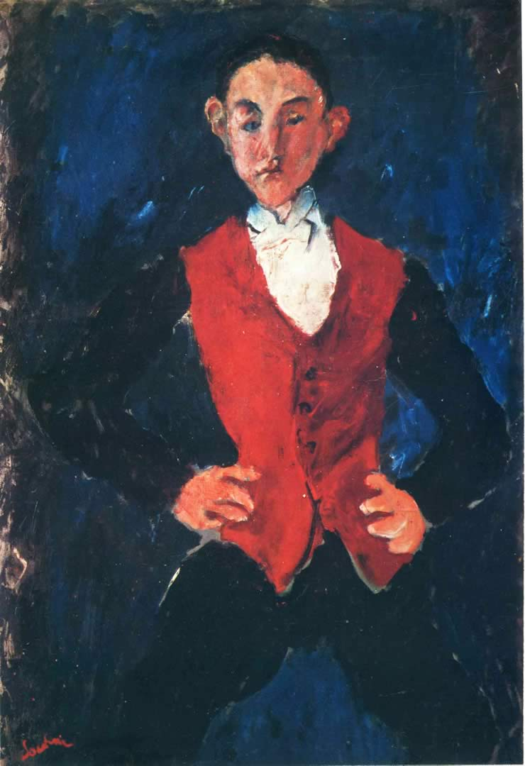 Portrait of a Boy Chaim Soutine