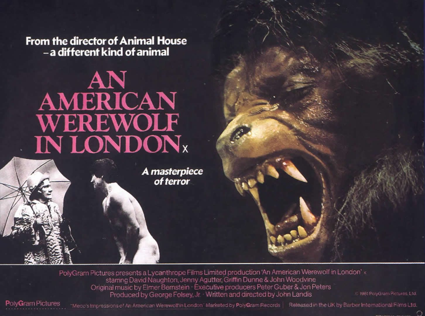 Horror An American Werewolf In London Landscape