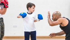 Boxing Club - Somers Town Community Sports Centre - (Parental permission given though signing registration form)