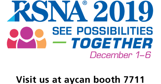 aycan exhibits at RSNA 2019 in Chicago
