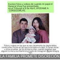 RT Angélica Vivas @Gabriela979   #JusticiaYLibertadDelGralVivas