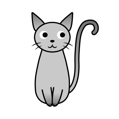 Chat noir 黒猫