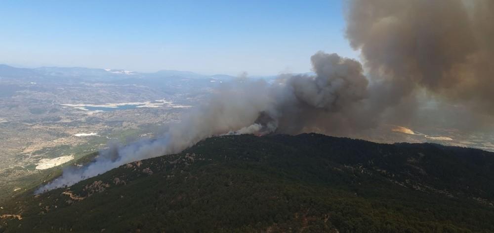 Aydın'daki yangınla ilgili 2 kişi gözaltına alındı