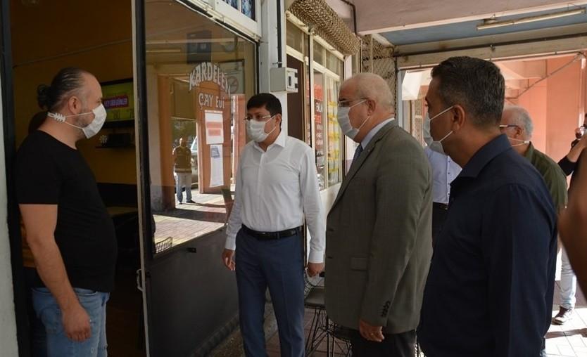 Nazilli'de Korona virüs denetimi gerçekleştirildi