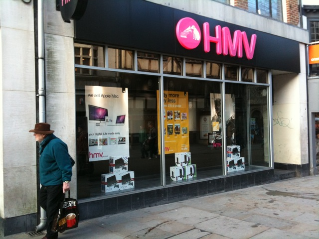 Why HMV will die and how they could have survived
