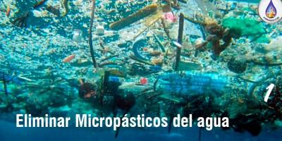 Como eliminar los microplasticos del agua aydoagua