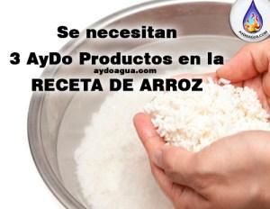 Cómo quitar arsénico al Arroz aydoagua.com