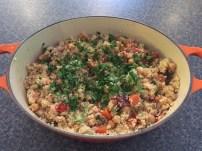 Tunisian vegetable cous cous