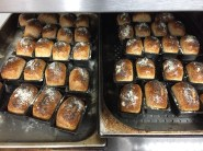 Spelt bread loaves