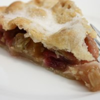 Rhubarb Tart... but with a twist