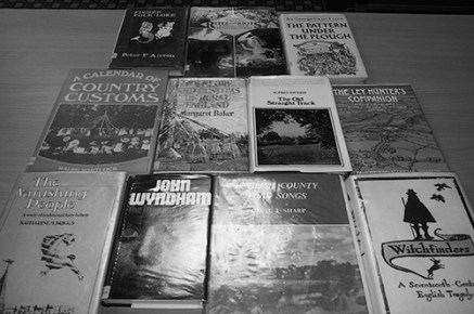 Wyrd Britannia Festival book collection-A Year In The Country