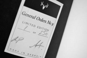general orders no 9