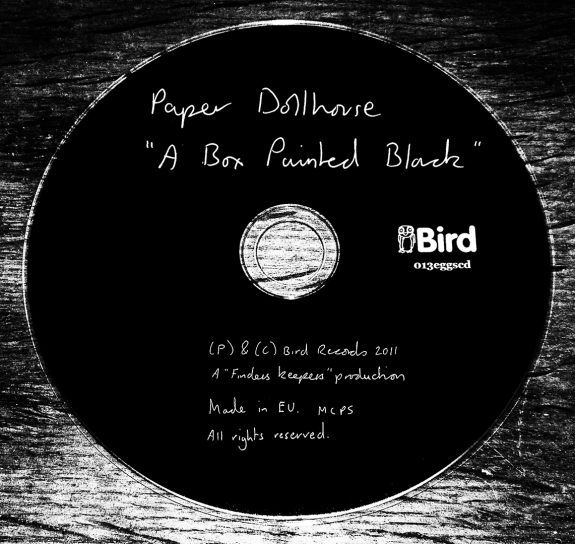 Paper Dollhouse-A Box Painted Black-Bird Finders Keepers Records-A Year In The Country 2