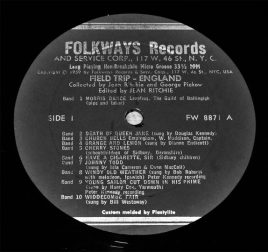 A Field Trip England-Folkways Records-Jean Ritchie and Georg Pickow-A Year In The Country 2